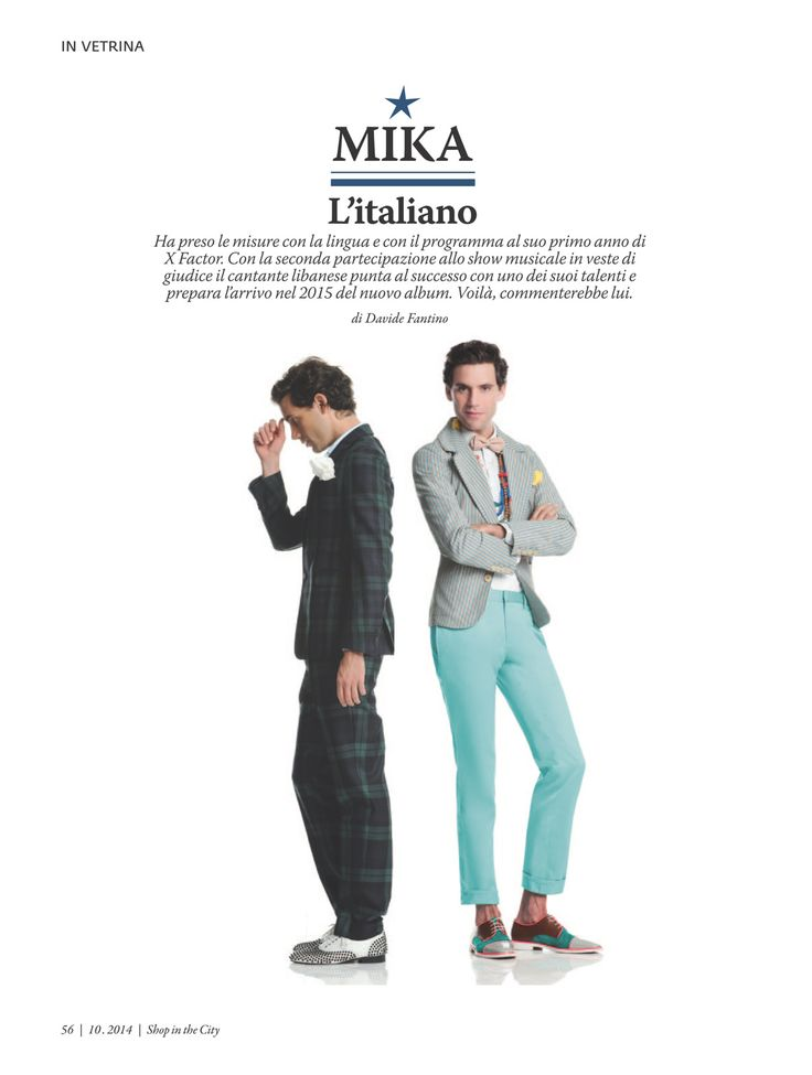 Mika - Shop In The City - Italian - October 2014 - page 3 of 6
