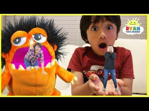 Kid shrink Mommy and Daddy with Nerf toys! Family Fun Kids Pretend Playtime with Ryan ToysReview! It's Mommy vs Daddy race to the finish line, and only one gets to be big again! Funny Kids Video with Ryan ToysReview!   Bad Gorilla Steals Bad Daddy for Halloween! Bad Kid & Bad Mommy prank daddy with Mr bubbles  https://youtu.be/bTIaDsg84mo?list=PLasCX3wfxLR1bzMGVzdFzmVEe9MRWRCxH  Bad Kids and Bad Ghost Johny Johny Yes Papa Song Nursery Rhymes & Learn Colors for ...
