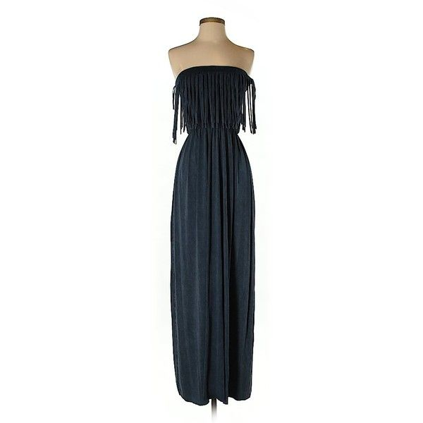 T Party Casual Dress (63 BRL) ❤ liked on Polyvore featuring dresses, navy blue, night out dresses, party dresses, going out dresses, blue party dress and blue dress