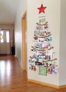 Albero Di Natale Originale Fai Da Te.Un Albero Di Natale Alternativo Ecco 20 Bellissime Idee