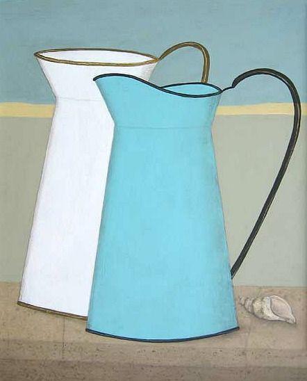 Geoffrey Robinson  Two Tin Jugs  21st century