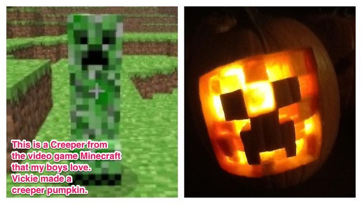 Minecraft Pumpkin Carving Templates Related Keywords ...