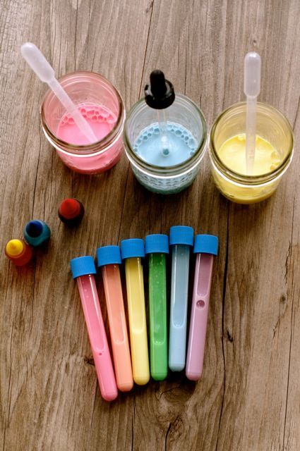 Kitchen Science:  The Rainbow Milk Experiment | Creekside Learning