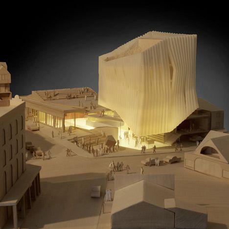 Architectural Model   Kimball Art Centre   Brooks + Scarpa