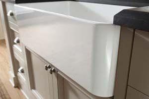 Blanco 518540 Cerana 30-inch Farmhouse Kitchen Sink Apron-Front Fireclay Sink with Single Basin