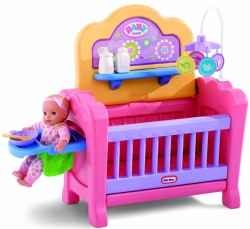 Really cute baby doll playset!