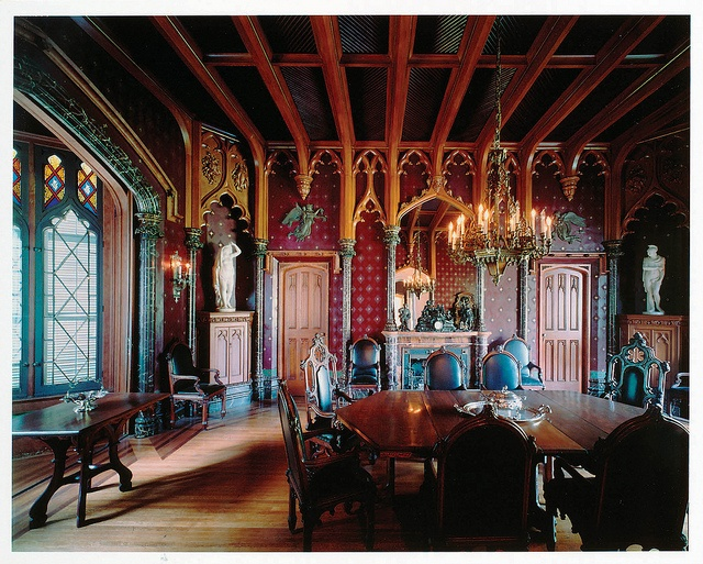 Lyndhurst Castle_Dining Room by ArtsWestchester, via Flickr