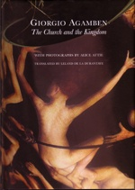 'The Church and the Kingdom' by Giorgio Agamben