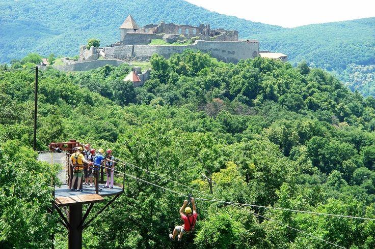 Visegrád Fun Extreme Canopy course