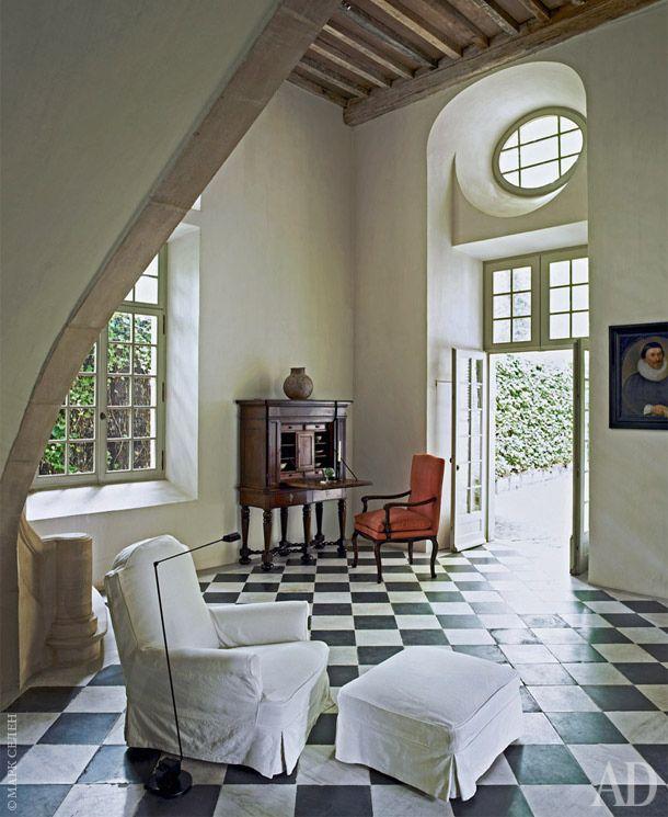 Villa Rozenhout owns by Fashion Designer Edouard Vermeulen, circa 1790, Belgium