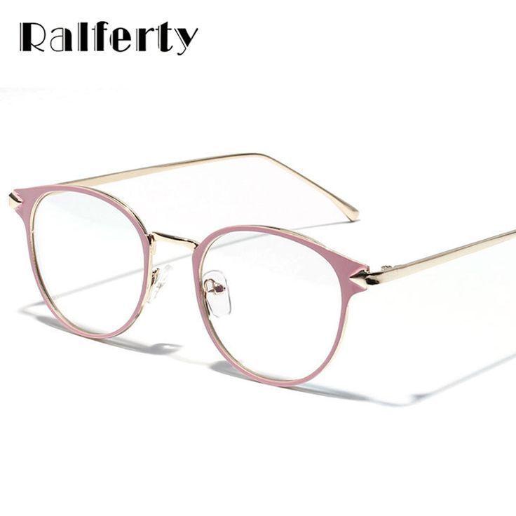 2018 brillengestell cat eye Brillen rahmen klare linse Frauen marke Eyewear