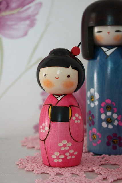 kokeshi dolls by tovemichelle12 on flickr