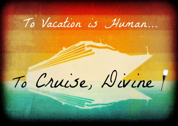 #cruise #vacations are divine, no?