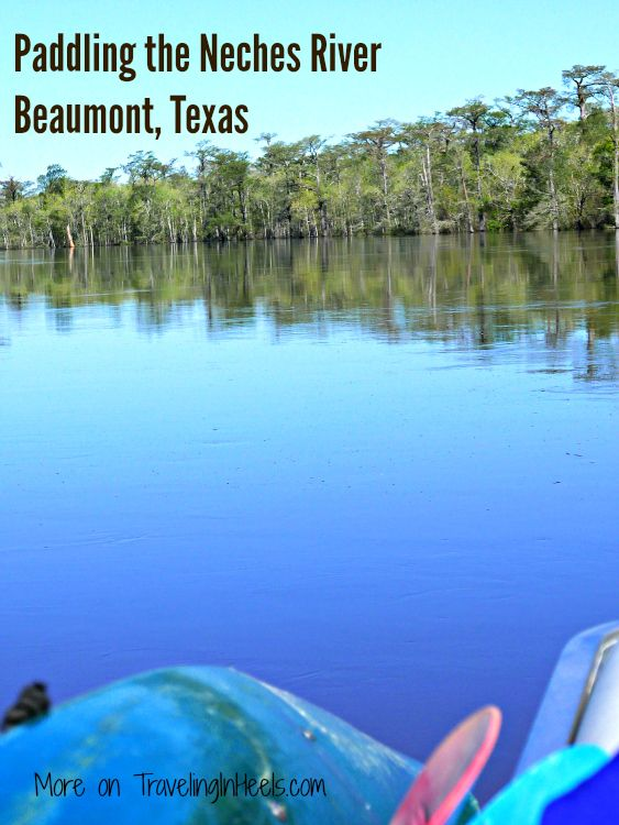 Say yes to Beaumont, Texas and Paddling the Neches River, a popular waterway in the Big Thicket National Preserve