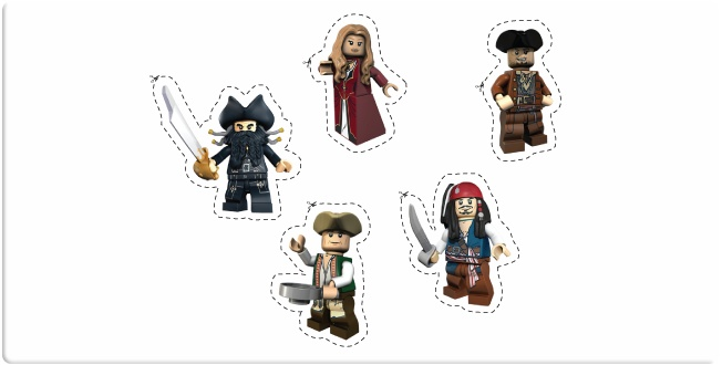 LEGO® Pirates of the Caribbean™ Downloads - Cut and Create -