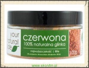 Czerwona glinka Your natural side 100 gr