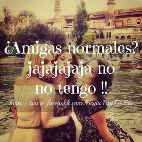 "Lmao...allow me to translate...""normal friends? Hahaha, I don't have any!!"" Lol"
