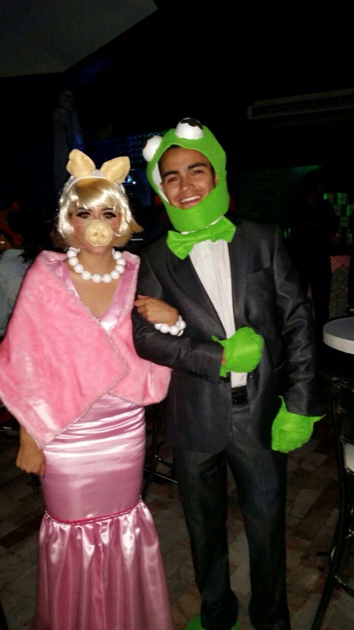 Kermit la rana y miss piggy