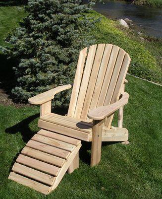 Garden Furniture Mill Adirondack Chair Kits
