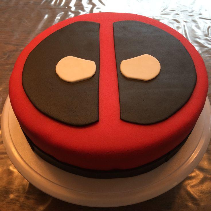 Deadpool (Marvel) voor Bram's 15e verjaardag