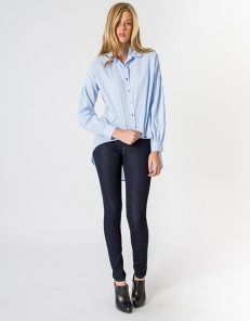 5-pocket denim skinny trousers