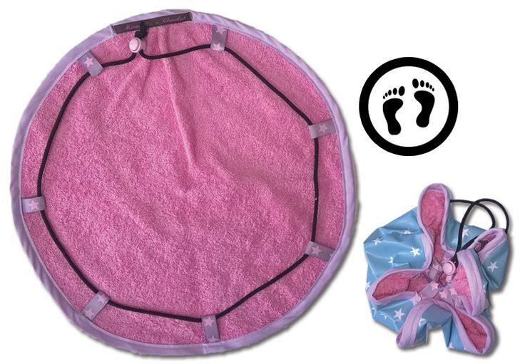 Découvrez mon petit Pieds au sec, indispensable pour aller a la piscine et son tuto ! Un cadeau facile et rapide à réaliser pour Noël