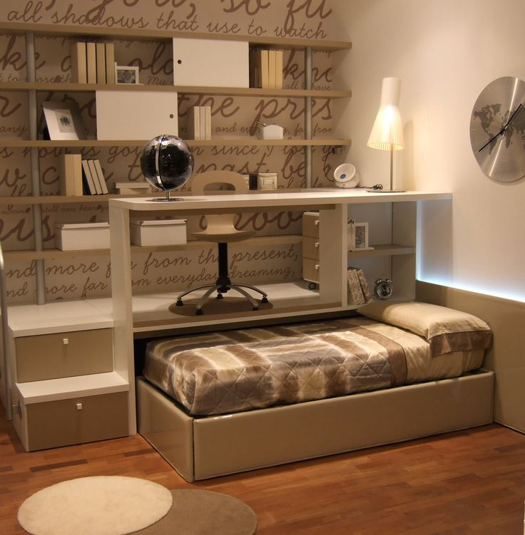 LOFT(RAISED) BEDS_Loft bed solutions are studied to allow maximum use of above…