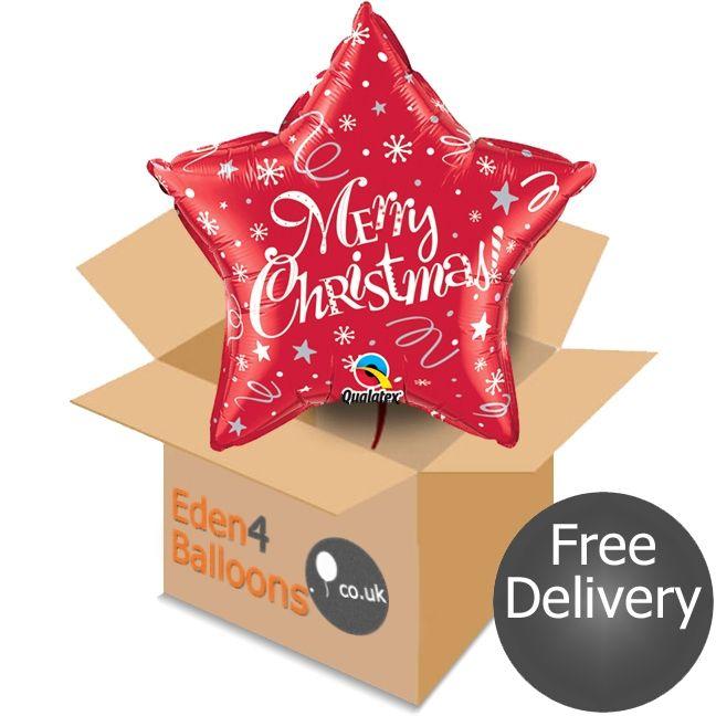Christmas Star Balloon in a Box