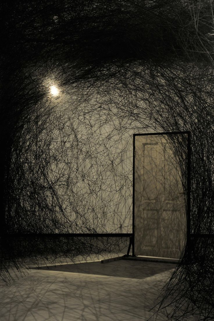 Other Side by Chiharu Shiota