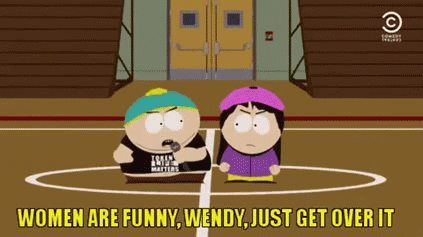 South Park and Amy Schumer together - more at http://www.thelolempire.com