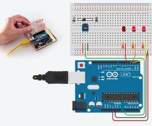 TMP36 Temperature Sensor With Arduino in Tinkercad | arduino