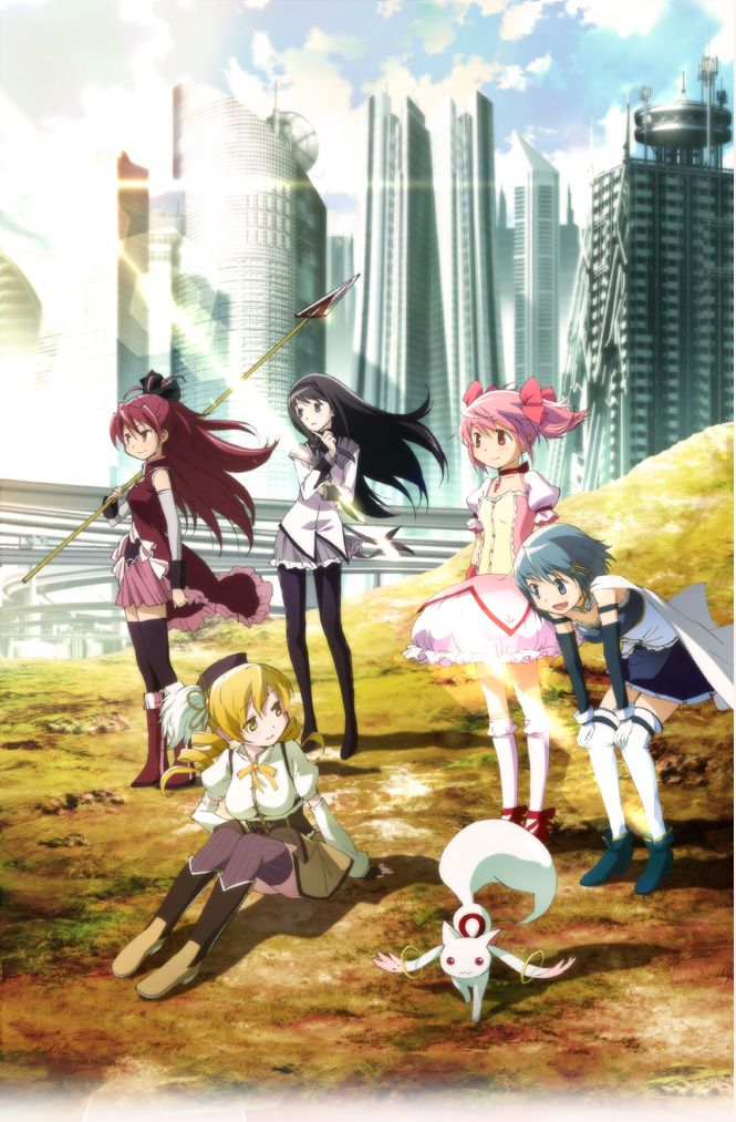 Puella Magi Madoka Magica the Movie Part I: The Beginning Story and Part II: The Eternal Story