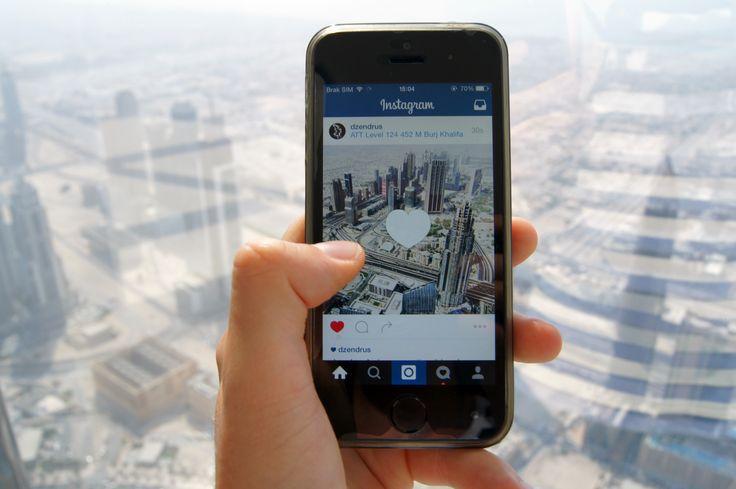 Love Instagram #dzendrus #goodmorning #atthetop #burjkhalifa #view #podróże #travel #traveler #traveling #travelblog #travelblogger #emirates #dubai #instagram