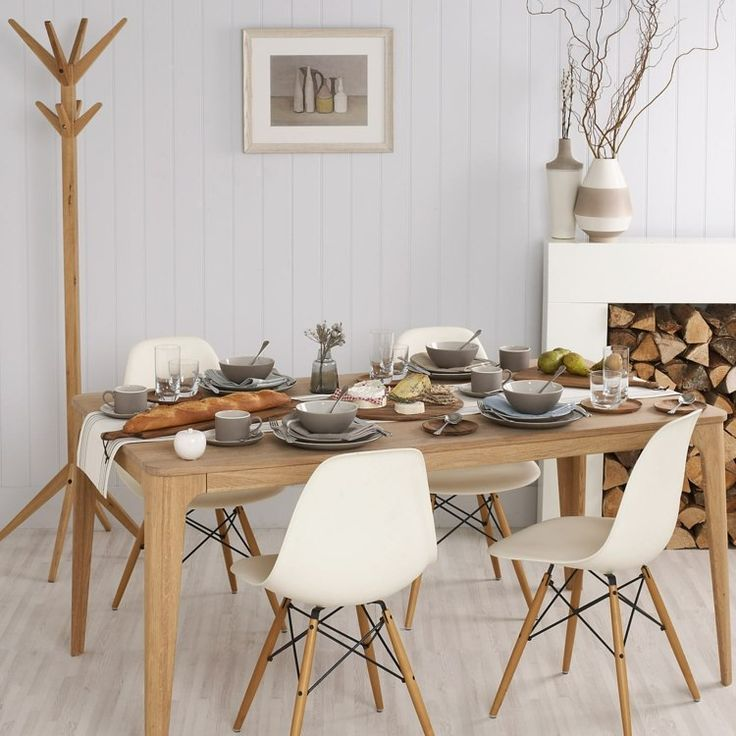 d co campagne chic salon 80 id es qui veillent l 39 imagination mobilier en bois style. Black Bedroom Furniture Sets. Home Design Ideas
