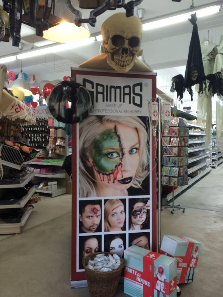 #grimas #halloween #make-up #schminke