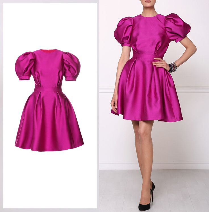 Isabel Garcia baby-doll dress with short puff sleeves. Order it online! http://bit.ly/1EdUdHu