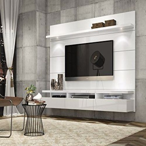 Entertainment Center Modern Tv Stand Media Console Wall Mounted Furniture White Entertainmentcentermodern Tv Feature Wall Living Room Tv Wall Living Room Tv
