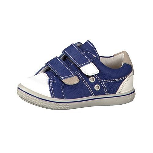 Ricosta Pepino Nippy Navy / White Leather Boys Casual Trainers Medium Size 27