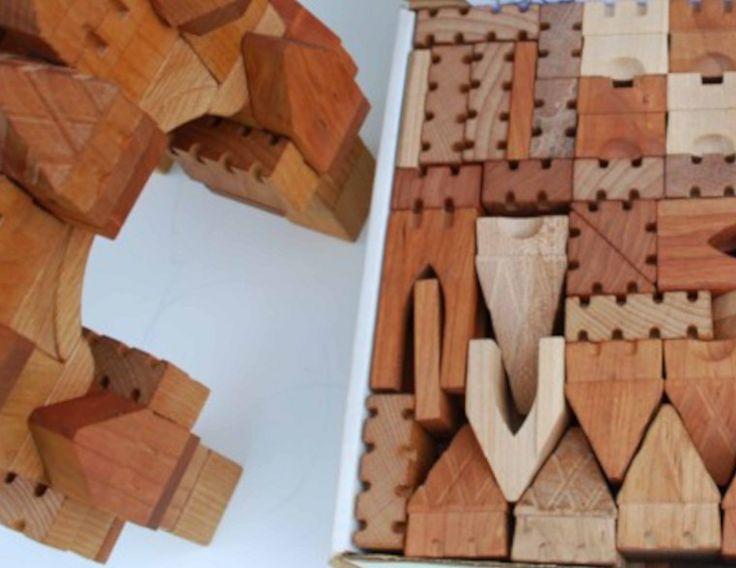 Village Blocksmith Castle Blocks | Lofty Littles