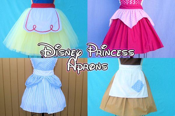 Disney-inspired Aprons.