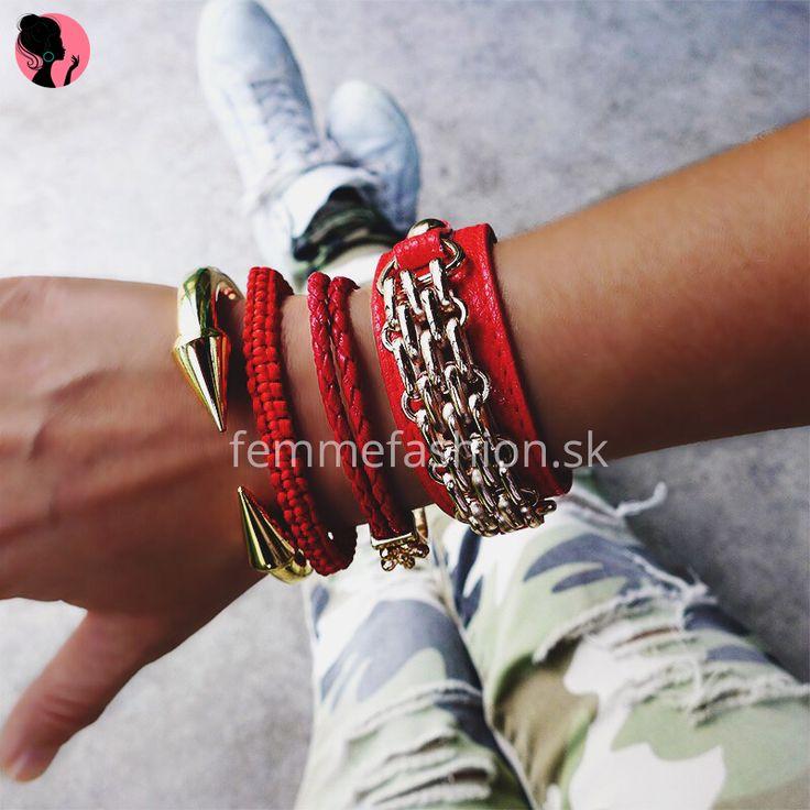 Set Náramkov #femmefashion #setnaramkov #bracelet #naramky #bizuteria  http://femmefashion.sk/sety/2599-set-naramkov-.html