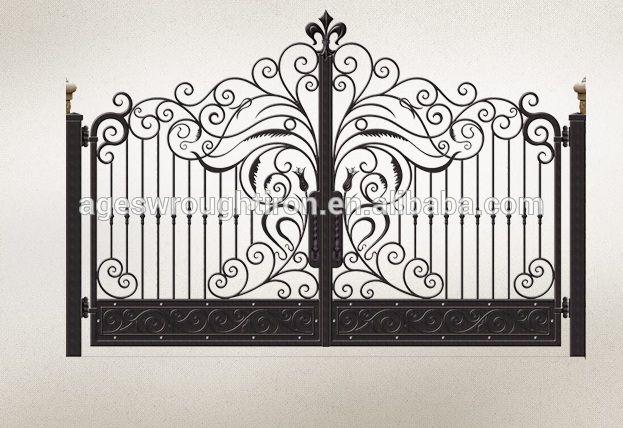 Iron Pipe Wrought Iron Gate Design Photo, Detailed about Iron Pipe Wrought Iron Gate Design Picture on Alibaba.com.