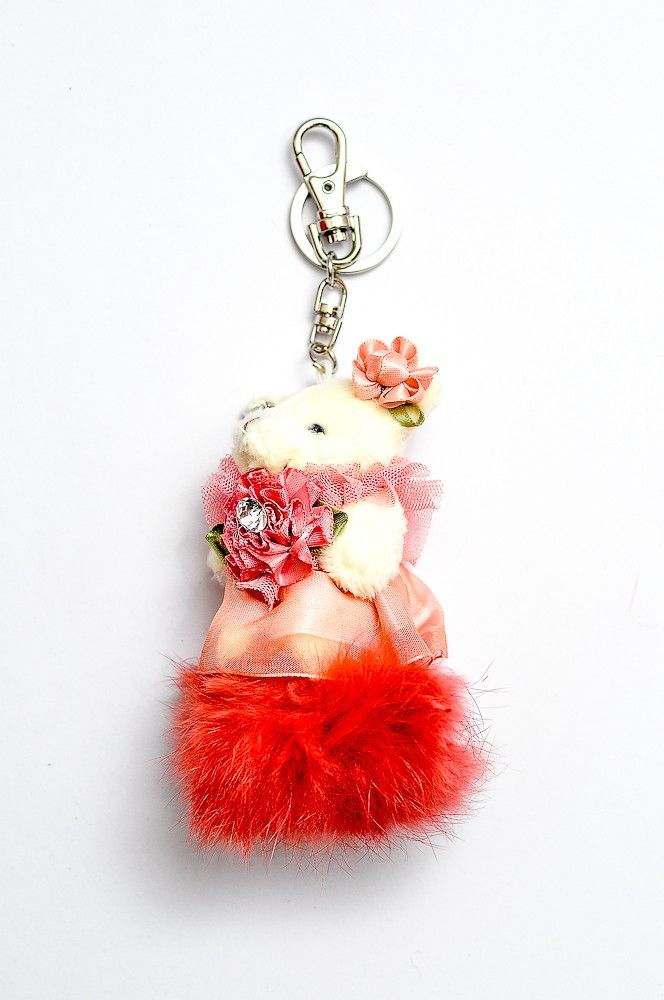 Doll Key Chain DKC03RedRp 60.000