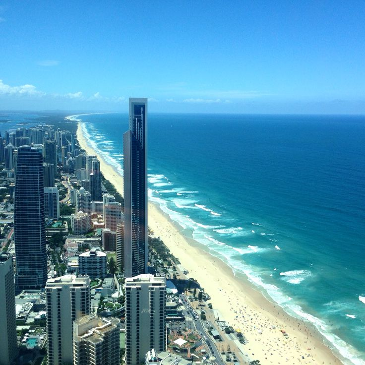 The view from Q1 - Gold Coast, Queensland, Australia