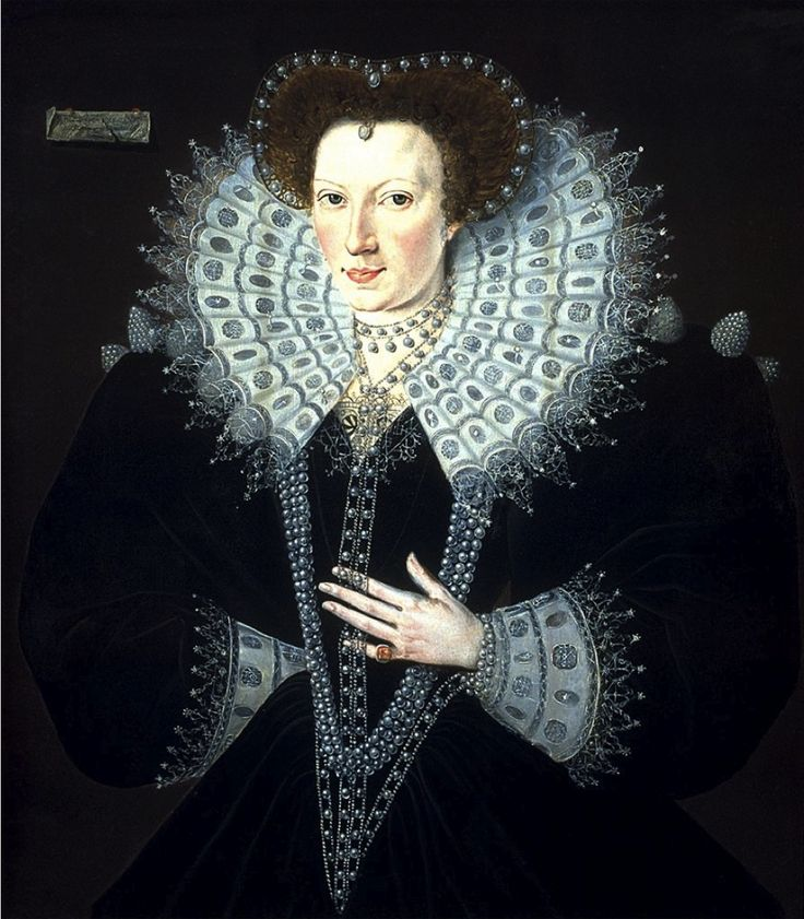 Frances Walsingham (1567-1633), Countess of Essex and Countess of Clanricarde  was an English noblewoman. The daughter of Francis Walsingham, Elizabeth I's Secretary of State, she became the wife of Sir Philip Sidney at age 16. Her second husband was Robert Devereux, 2nd Earl of Essex, Queen Elizabeth's favourite, with whom she had five children. Shortly after his execution in 1601 she married her lover,[1] Richard Burke, 4th Earl of Clanricarde, and went to live in Ireland.: History, 16Th Century, Elizabethan Tudor, Collars Shape, Www Fashion Net France, Historical Fashion, 1500S Fashion, France Walsingham, Elizabethean Costumes