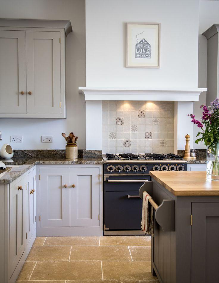 Home sweet home, a crisp modern Shaker kitchen