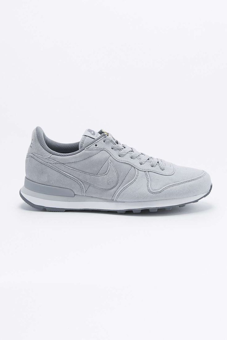 Nike Internationalist Premium Grey Trainers