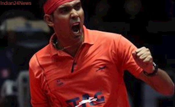 Sharath Kamal outsmarts old rival Paul Drinkhall to make Indian Open semi-finals