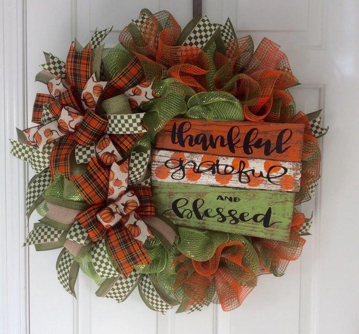 Beautiful Door Wreath for Fall 2502 best