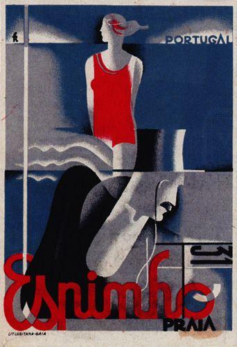 Espinho, Portugal by Fred Kradolfer 1931